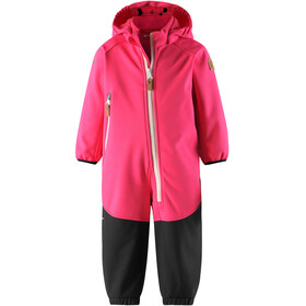 Reima Mjosa Softshell Overall Girls Candy Pink